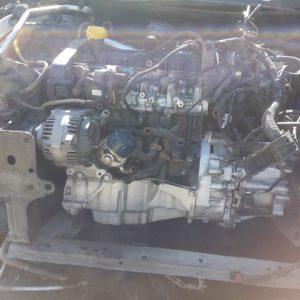 megan 2 1.5 dci motor komple